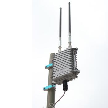 LAFALINK大出力無線ルータ屋外AP企業屋外無線基地局AP WIFIカバー中継機本体+15 DBI全方向アンテナ*2
