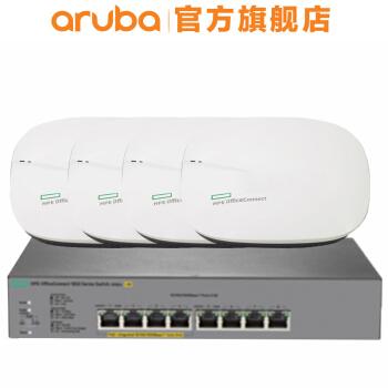 安移通(ARUBA)HPE Office Connect OC 20ギガルド無線AP 802.11 ac J 9982 A+4台OC 20