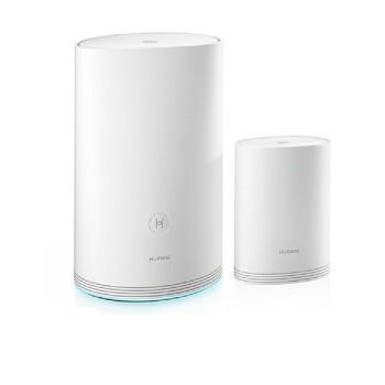 HUAWEI(HUAWEI)ルータQ 2(1母1子)次世代子母ルート/全ギャガ/全戸型高速WiFiカバー/1ドラッグ15/無線壁に強いルータ